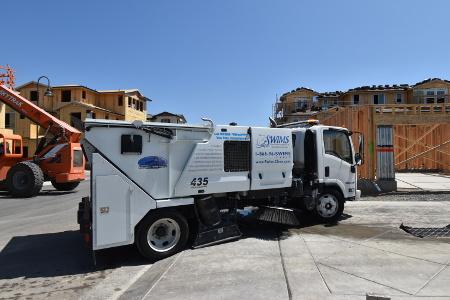 Street sweeper operator