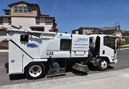 Street sweeping service